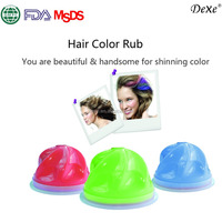 Chalk no damage hair coloring young people hair color chalk green world herbal products