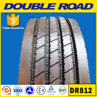 high tire quality DOUBLE ROAD 11R22.5 truck tires for sale