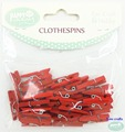 Mini custom painted clothespin small wood clothespins with factory price