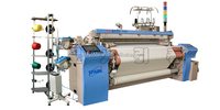 YC9000-190cm four nozzle color weaving air jet loom will show in shanghai fair
