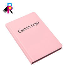 Chinese Supplier OEM Custom A4 Size Paper 80 gsm Pink Hardcover Notebook