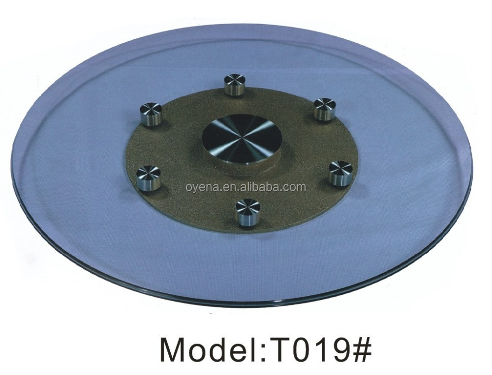 Foshan wholsale industrial glass lazy susan bearing