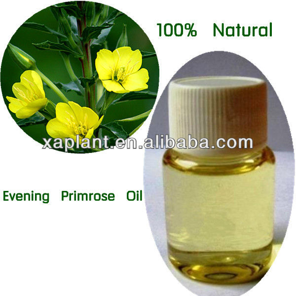 100% High Quality Cold Pressed Organic Evening Primrose Oil