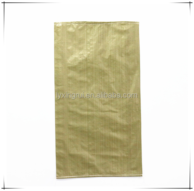 50kg plastic green trash pp bag for Russia