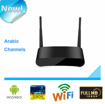 2017 Wholesale IPTV Set Top Fully Loaded Android Arabic Iptv Box