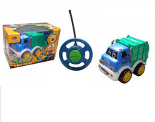 Battery operated Cartoon R/C Car Radio Control Toy for Toddlers Thomas cartoon mini rc car