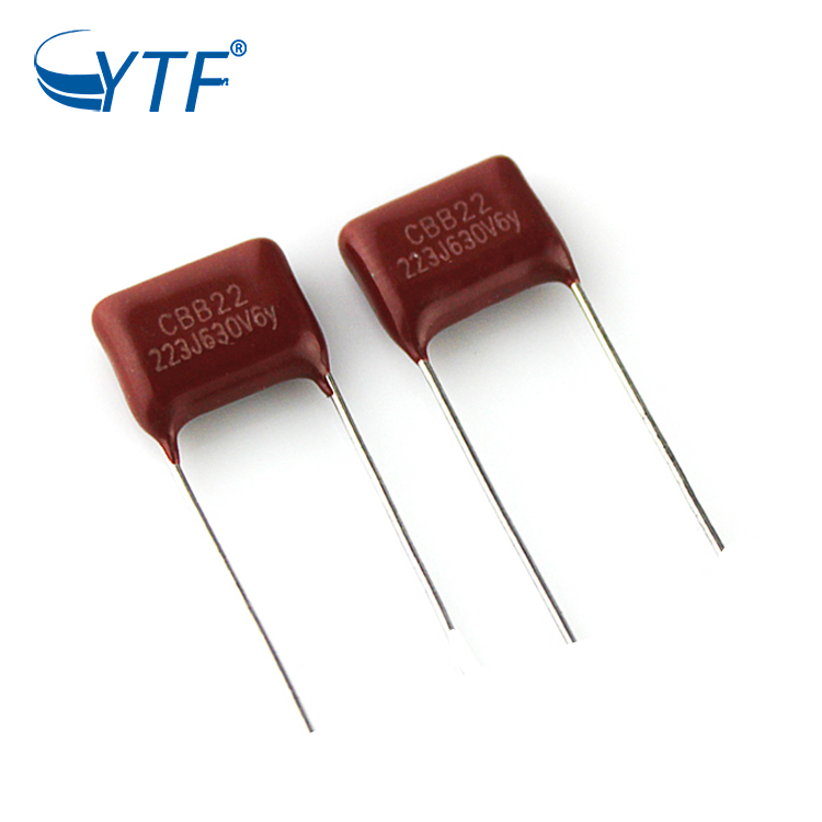 630V 223J Stability Radial Price Factory Directly Polyester Film Capacitor