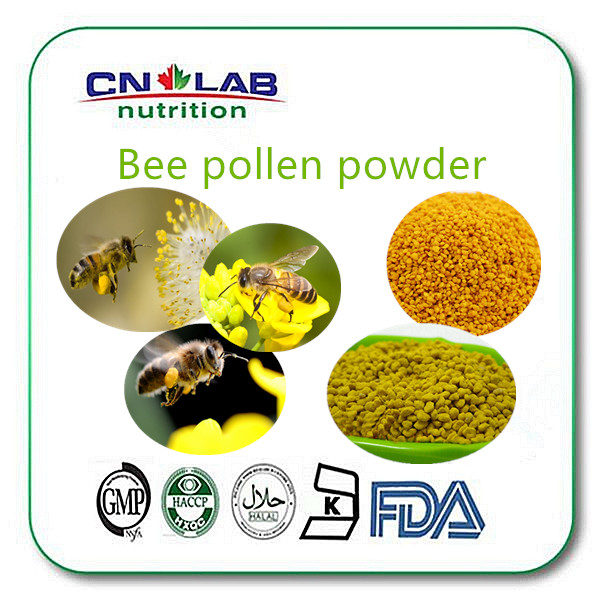 High health benefit quality bee pollen nutrition supplement