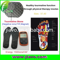 negative ion insole / tourmaline foot massage for healthy life