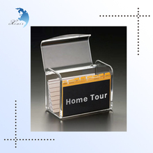 Hard plastic credit card holder, gift card holder boxes