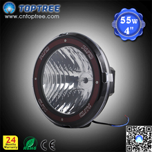 "factory price 4"" 35w/55w HID Xenon Spotlights Environmental protection hid light for driving"