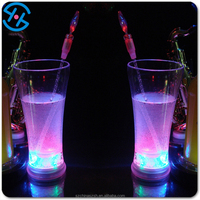 event and party supplies light up plastic glass, factory led glass