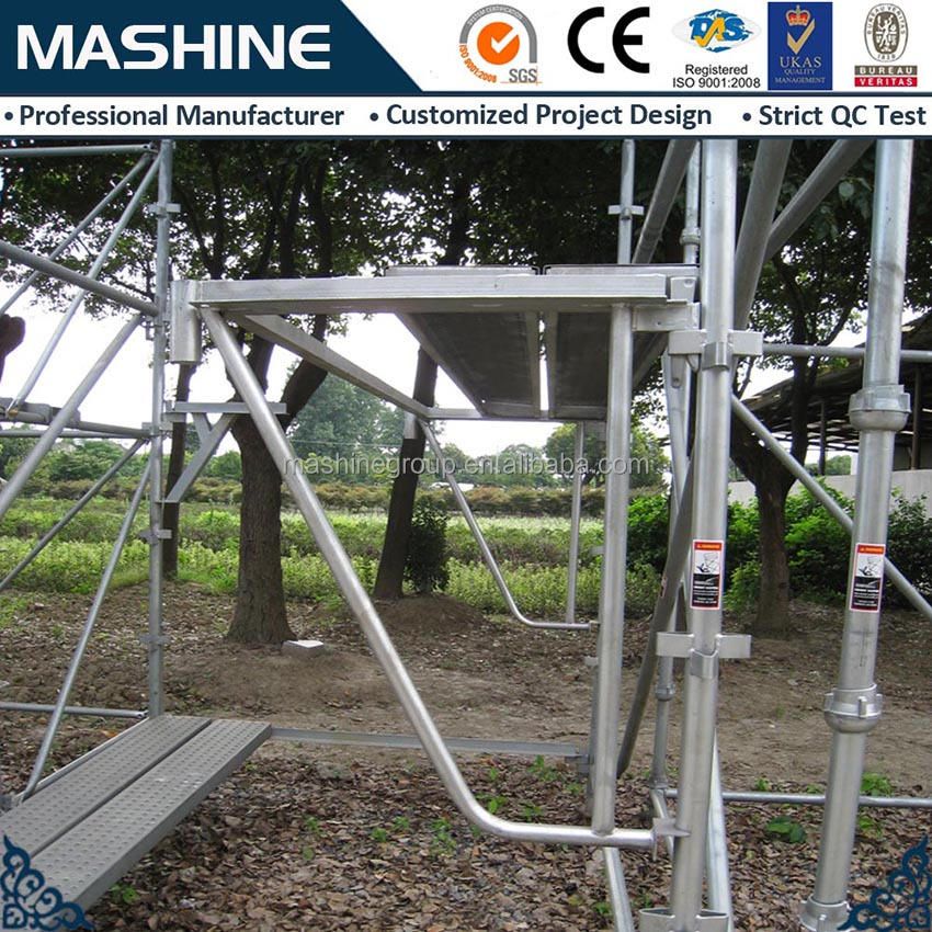 China manufacturer 2015 Safety Q235 standard scaffolding kwikstage