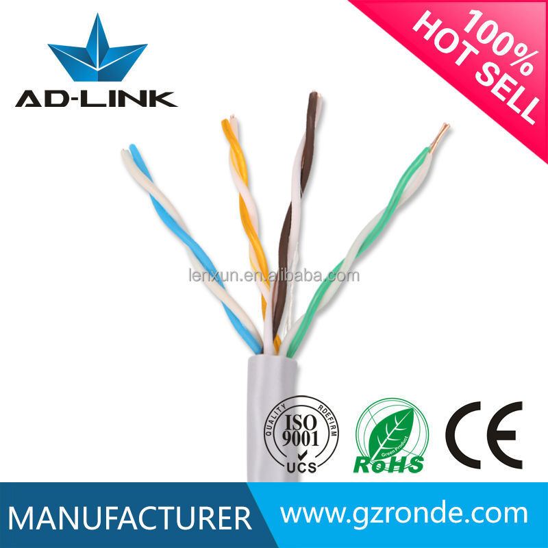 New products on china market 23awg 24awg cooper/cca 1000m utp cat5e lan cable
