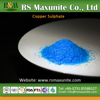Copper Sulfate Pentahydrate CuSO4.5H2O Industrial Feed Grade 98% factory selling price CAS No.:7758-99-8