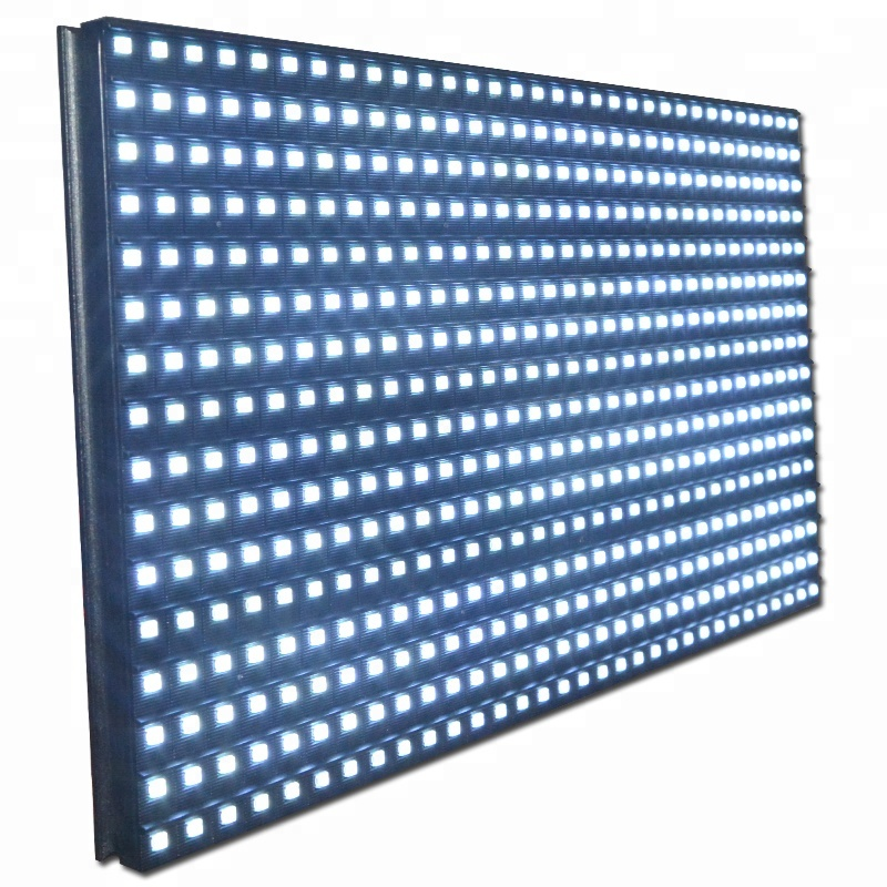 Outdoor Single White Color <strong>16x32</strong> <strong>P10</strong> Smd <strong>LED</strong> <strong>Module</strong> Display With Pitch 10mm