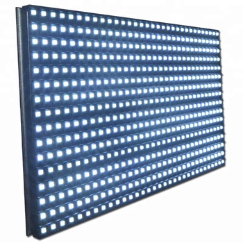 Outdoor Single White Color 16x32 P10 Smd LED Module Display With Pitch 10mm