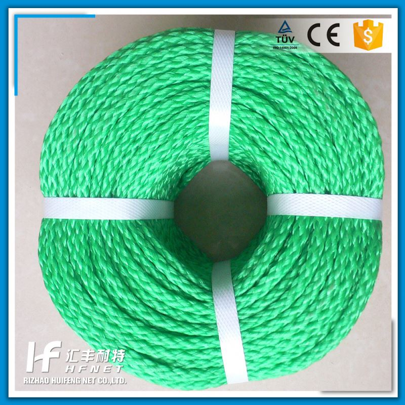 Factory Price 3 Strand Twist Coir Rope Nylon Rope