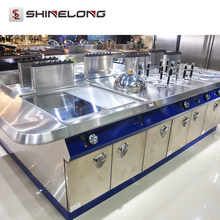 Industrial Catering Integral Solution 5 Star Hotel Kitchen Restaurant Mechanical Equipment List