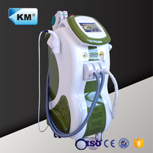 Multifunctional ipl rf beauty device for sale with E-light+IPL+Nd:Yag laser+Cavitation+RF (CE ISO TUV)