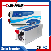 Frequency converter 60hz 50hz with pure sine wave solar MPPT controller for home/ office/ industrial use