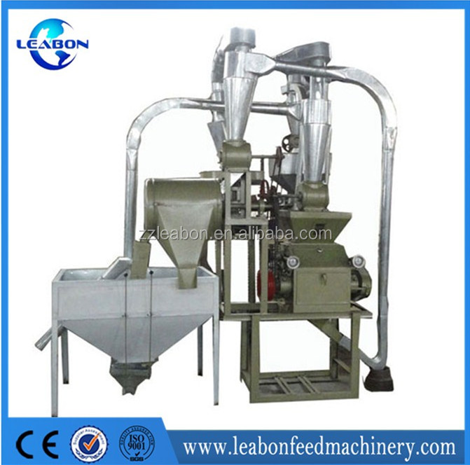 Durable small scale wheat flour mill/corn flour milling machine for sale