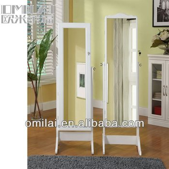 white black cheap high quality home goods floor mirrors