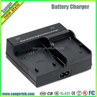 New High Quality 4.2V/8.4V Dual Channel Battery Universal Portable Travel Camera Charger