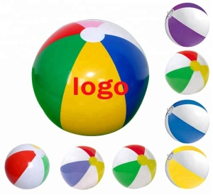 Hot Sale Private Customized Pvc Inflatable Beach Ball With logo Printing