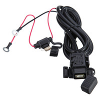 Motorcycle Dual USB Port Power System Cell phone GPS Travel Charger 5V/2.1A