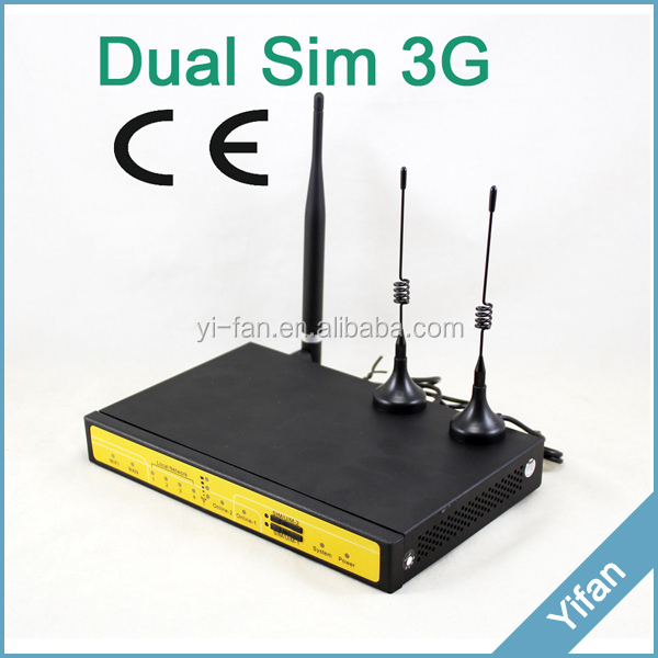 ef3932 m2m industrial wifi router dual sim 3g router sim. Black Bedroom Furniture Sets. Home Design Ideas