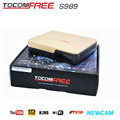 2017 TV Satellite recoder Tocomfree S989 for South America support IKS free Newcamd