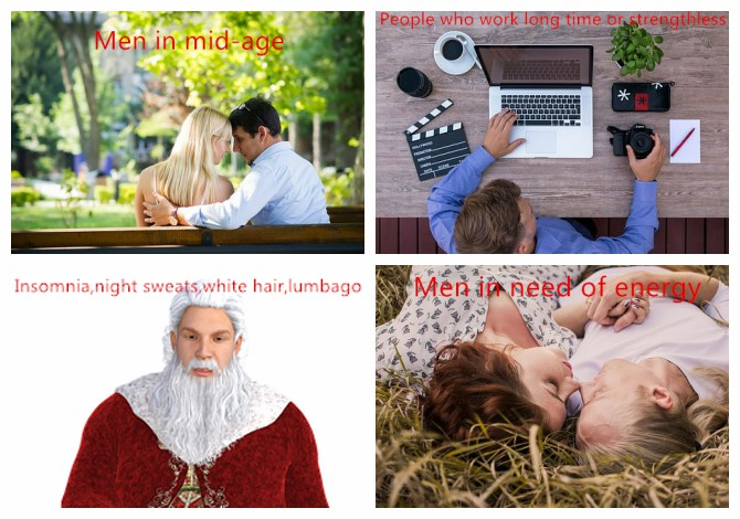 Zhongke Power Plus Capsule Hairy Antler Herbal Cistanches Maca sex protect kidney strengthen body loving time men 100% cheerful
