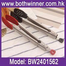 Food grade silicone kitchen tongs ,h0ttEf stainless steel food tongs serving tongs for sale