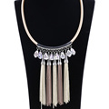 Women's Fashion jewelry Main Material Alloy Chain Tassel Necklace For Sale
