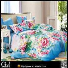 128*68 40s*40s 100% cotton pigment printed bedsheet
