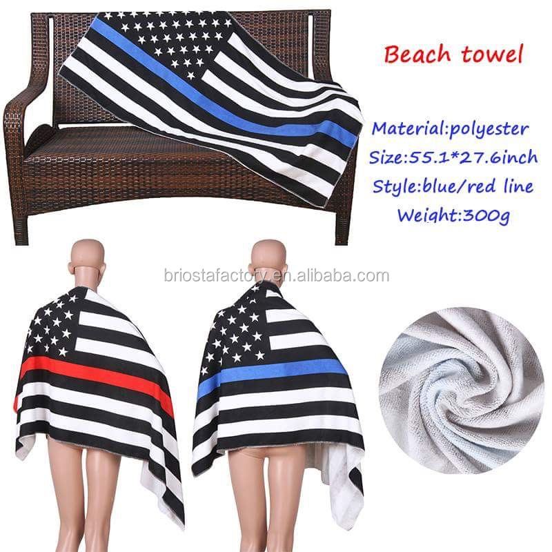 Wholesale American Flag Beach Towel