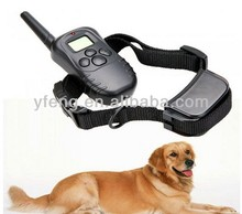 2 Collar 300M Electric Remote Dog Anti-Bark shock Obedience Training Device New