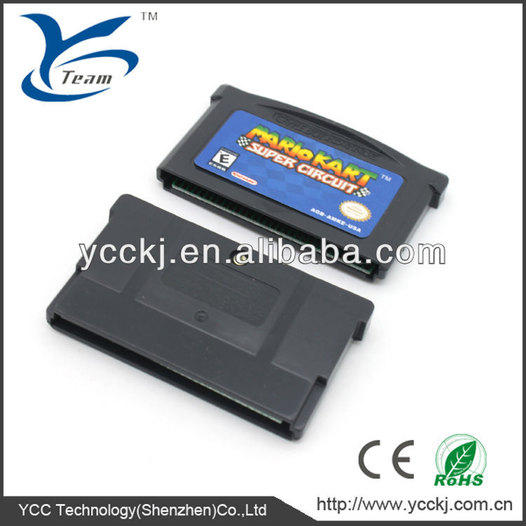 The comptitive price for GBA game card from china
