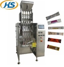 HS480BF 4 lanes full-automatic factory price sealing filling and packing powder stick machine