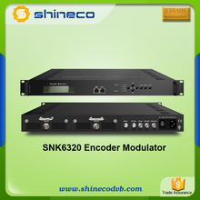 MPEG2 and MPEG4 HDMI Encoder Modulator 2/4 HDMI to 4*DVB-C with RF output