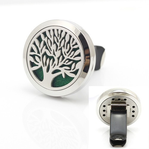 Wholesale New Arrival 30mm Magnetic Perfume 316l Stainless Steel Diffuser Aroma Locket