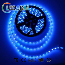 High Quality SMD 5050 LED Strip Light Black PCB 12V Blue Color Waterproof LED Strip With CE ROHS