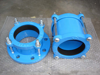 DCI Flexible coupling for PVC pipes