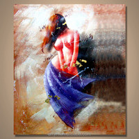 Modern Wholesale Nude Gril Decorative Art Painting For Gallery