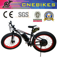 CE approved!!! 26*4.0 fat tyre electric motorbike