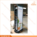 Double Side Marble and Granite Stone Display Tower-SR089
