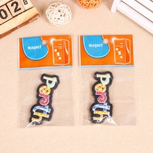 3D Soft PVC Fridge Magnet with Customized design for promotion