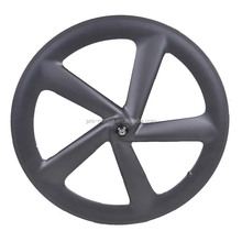 Popular Oem carbon bicycle wheels T700 Carbon 700C Clincher Carbon Road Bike 5 Spokes Wheel Rim