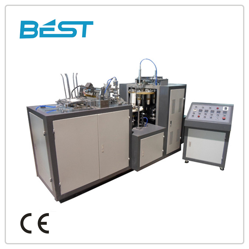 JBZ-A12 single and double paper cup making machine prices(cold drink cup)